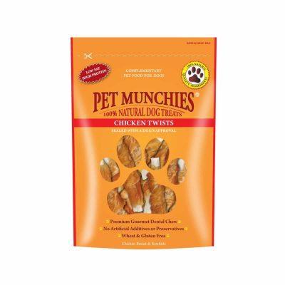 Pet Munchies Chicken Twists