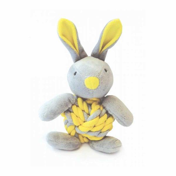 Happy Pet Knotty Bunny Yellow
