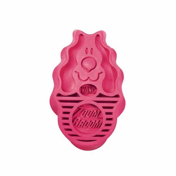 Kong Zoom Groom Raspberry