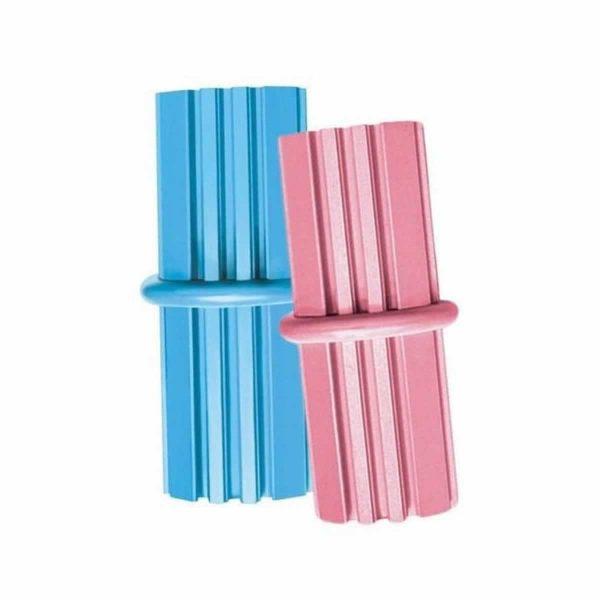 Kong Puppy Teething Sticks Medium - Blue & Pink