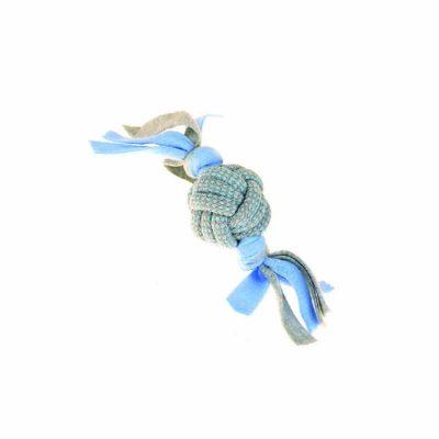 Little Rascals Fleecy Rope Tugger in Blue