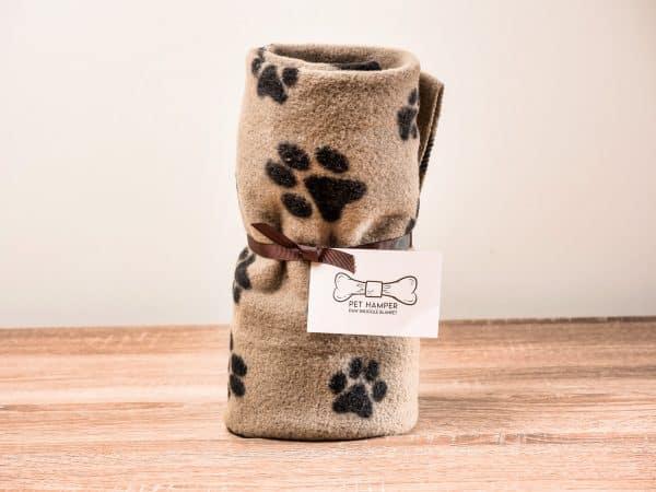 pet_hamper_beige_paw_snuggle_pet_blanket