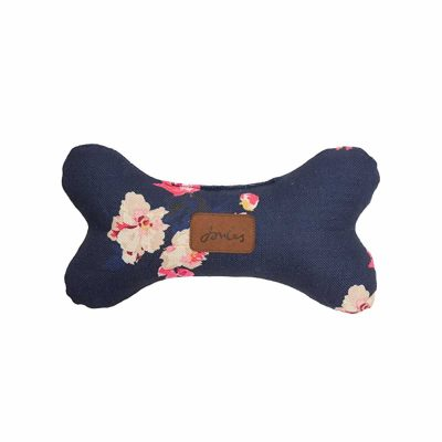 joules-floral-bone-dog-toy