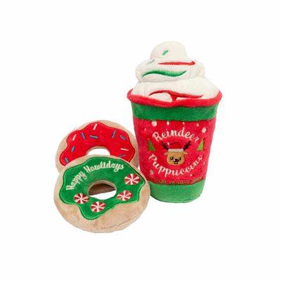 Fuzzyard Reindeer Puppucino Dog Toy