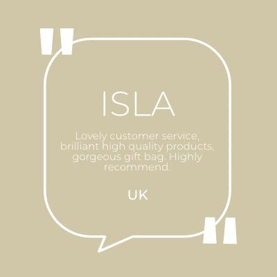 customer quote Isla