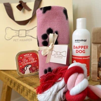 furever-yours-dog-valentines-dog-hamper-close-up