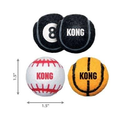 Kong Sport Ball Sizing