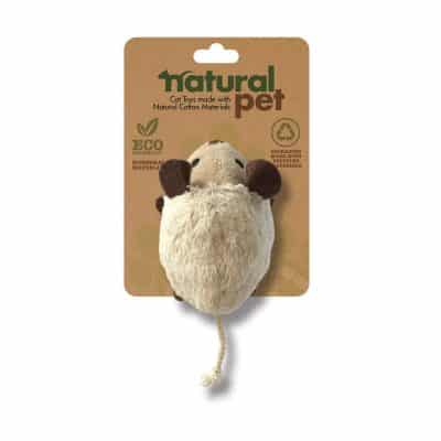 Natural Pet Cat Mouse Toy