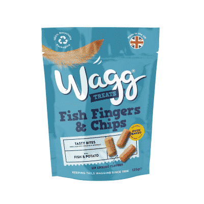 wagg fish fingers and chips