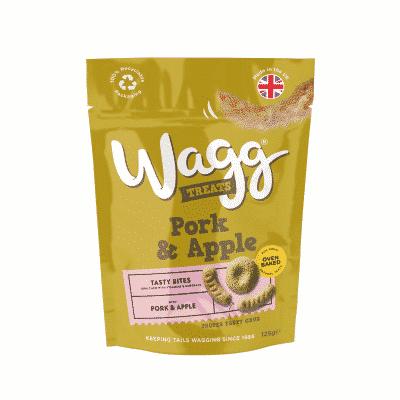 Wagg Pork & Apple Treats